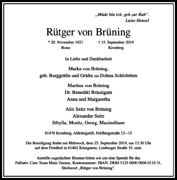 Rütger von Brüning