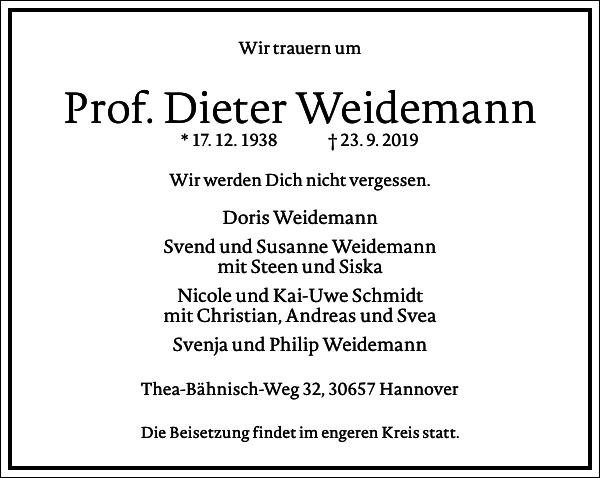 Dieter Weidemann