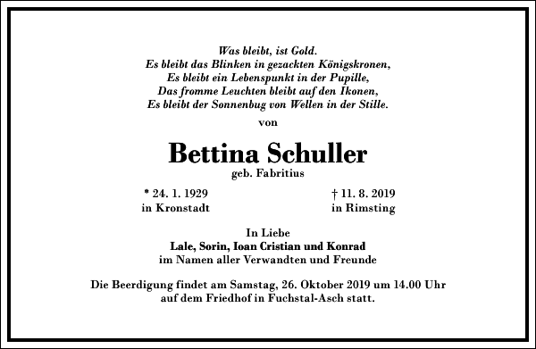 Bettina Schuller