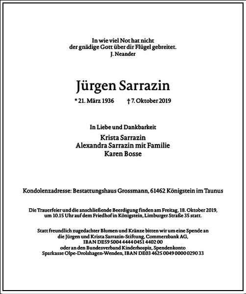 Jürgen Sarrazin