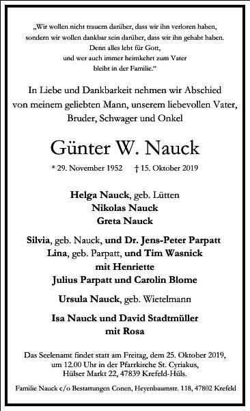 Günter W. Nauck