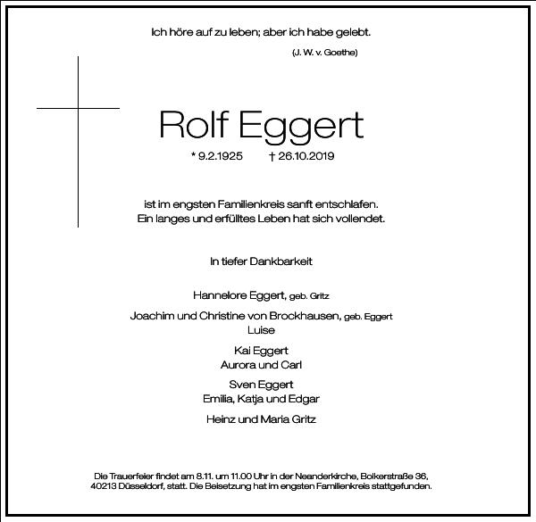 Rolf Eggert