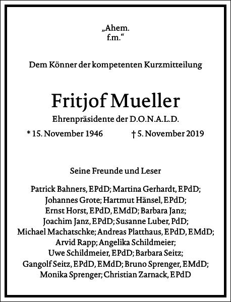 Fritjof Mueller