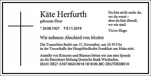 Käthe Herfurth