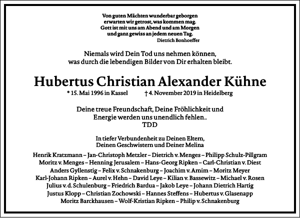 Hubertus Christian Alexander Kühne