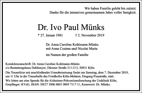 Ivo Paul Münks