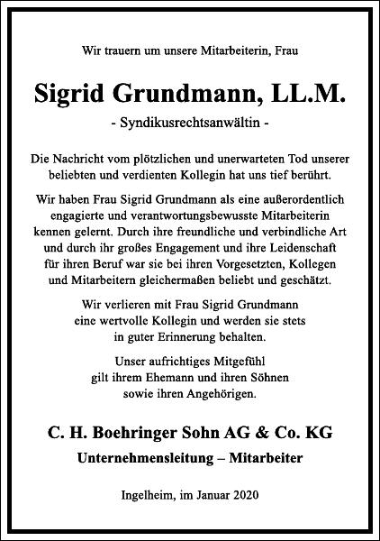 Sigrid Grundmann