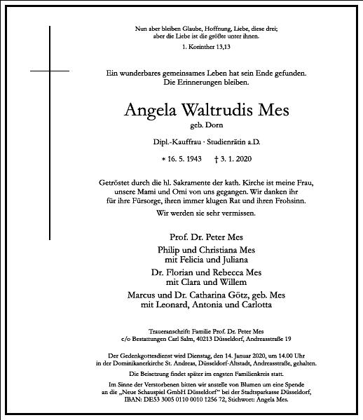 Angela Waltrudis Mes