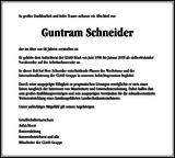 Guntram Schneider : Unternehmensnachrufe