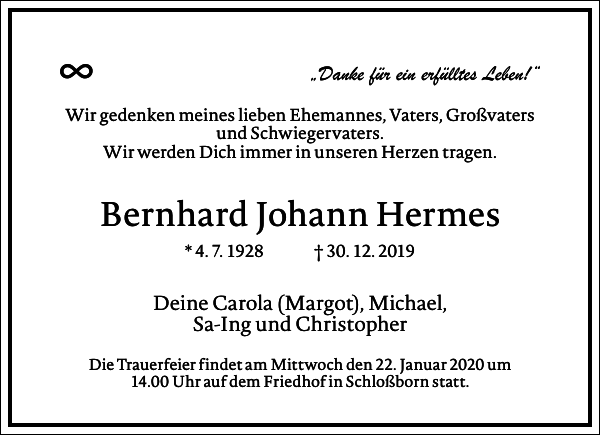 Bernhard Johann Hermes