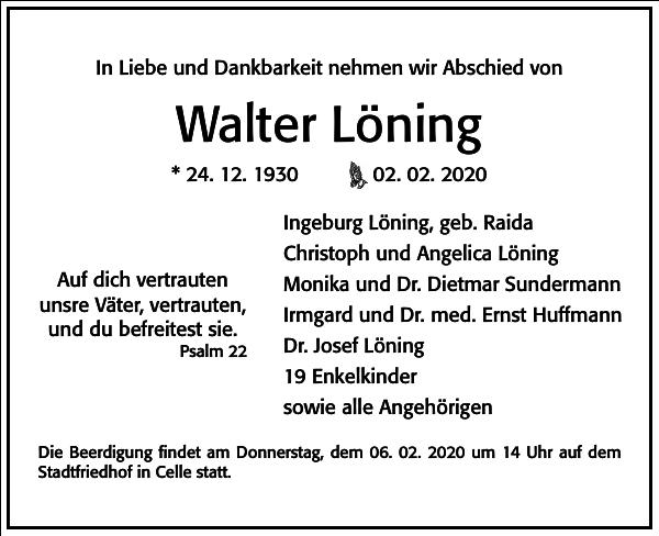 Walter Löning