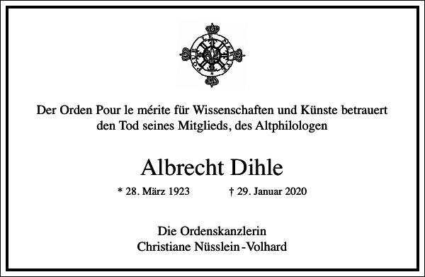Albrecht Dihle
