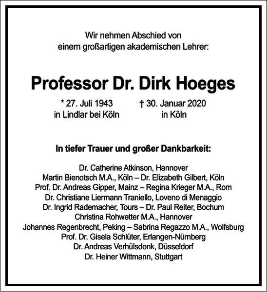 Dirk Hoeges