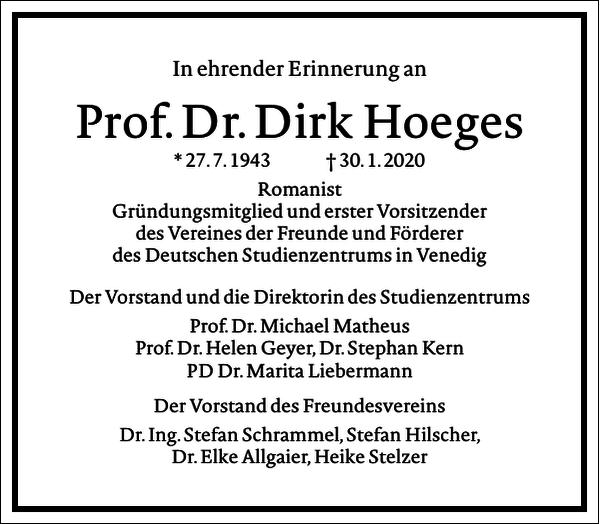 Dirk Hoeges