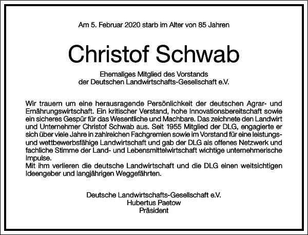 Christof Schwab