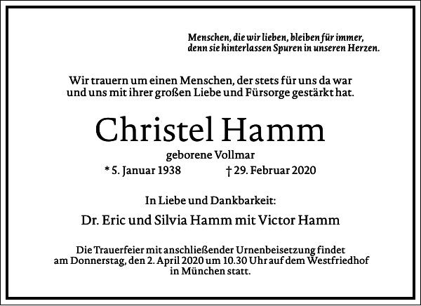 Christel Hamm