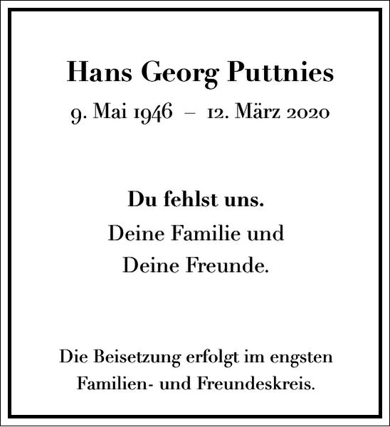 Hans Georg Puttnies