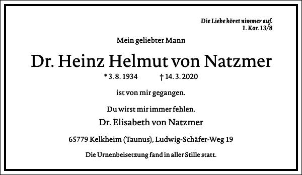 Heinz Helmut von Natzmer