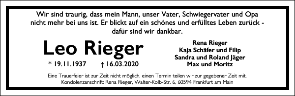 Leo Rieger