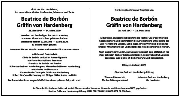 Beatrice Beatrice de Borbón