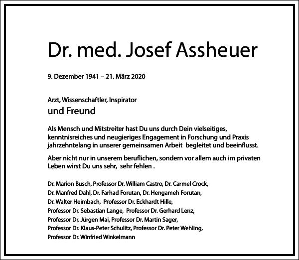 Dr. med. Josef Assheuer