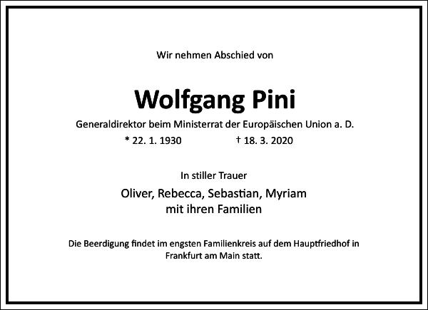 Wolfgang Pini