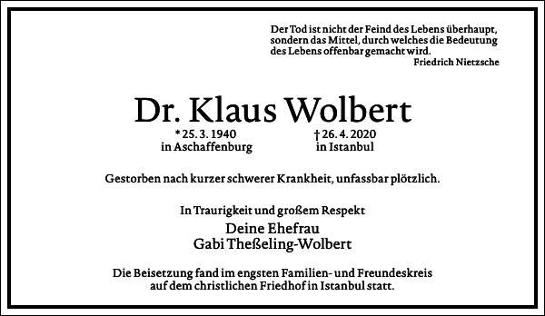 Klaus Wolbert