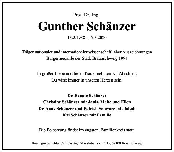 Gunther Schänzer