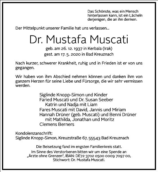 Dr. Mustafa Muscati