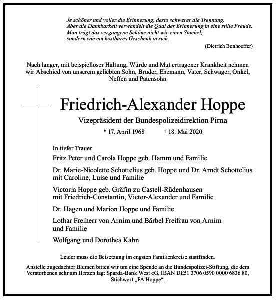Friedrich-Alexander Hoppe