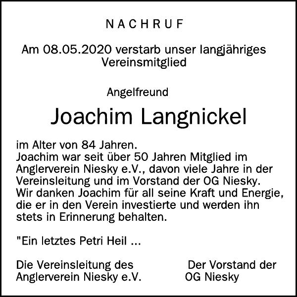 Joachim A. Lang