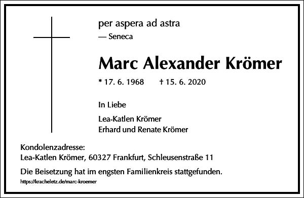 Marc Alexander Krömer