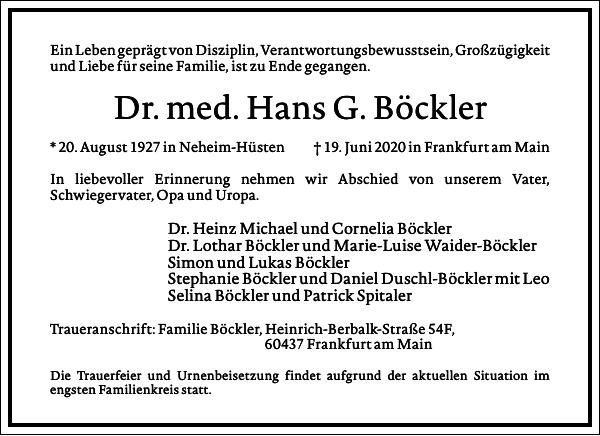 Hans G. Böckler
