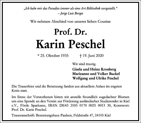 Karin Peschel