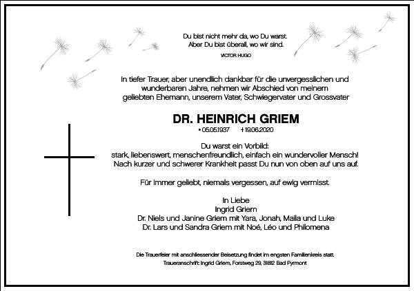 Heinrich Griem