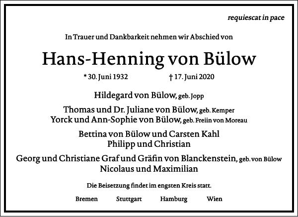 Hans-Henning von Bülow